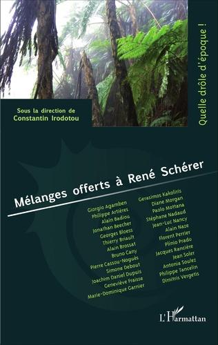 Couverture Mélanges offerts à René Schérer