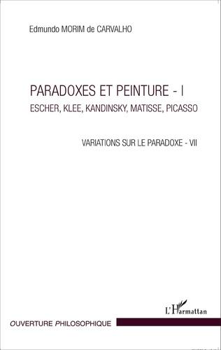 Couverture Paradoxes et peinture - I