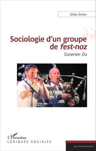 Couverture Sociologie d'un groupe de <em>fest-noz</em>