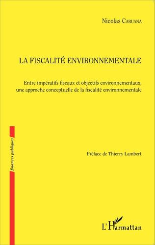 Couverture Fiscalité environnementale
