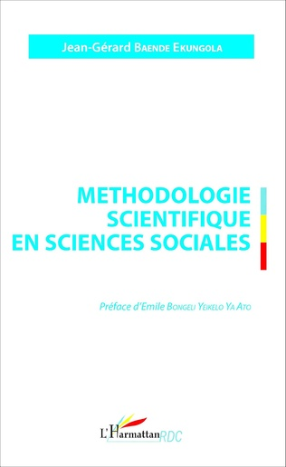 Couverture Méthodologie scientifique en sciences sociales