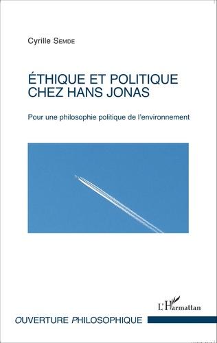 Couverture Éthique et politique chez Hans Jonas