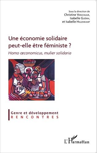 Couverture Une économie solidaire peut-elle être féministe ?