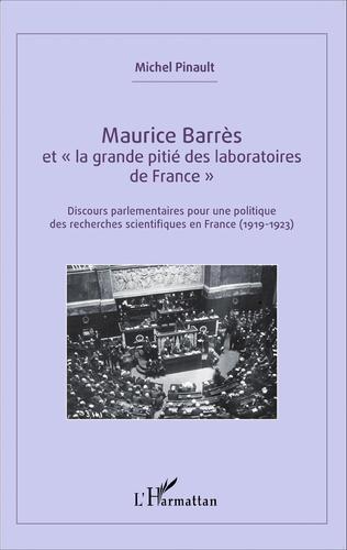 Couverture Maurice Barrès