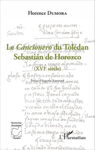 Couverture Le Cancionero du Tolédan