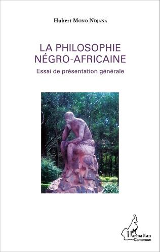 Couverture La philosophie négro-africaine