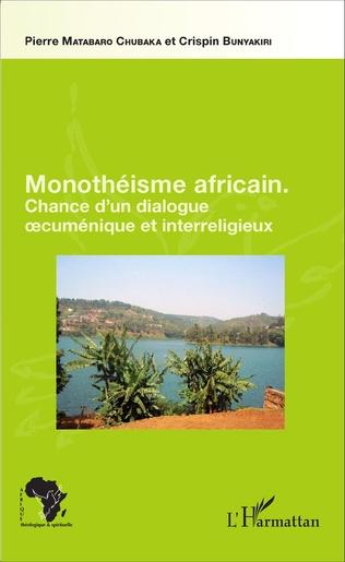 Couverture Monothéisme africain