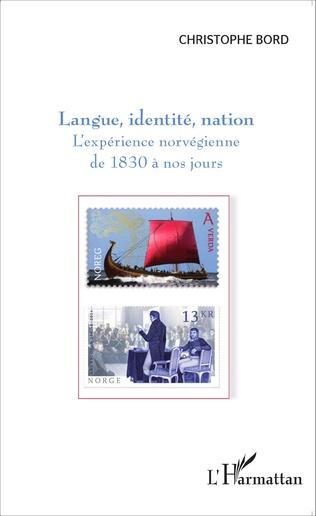 Couverture Langue, identité, nation