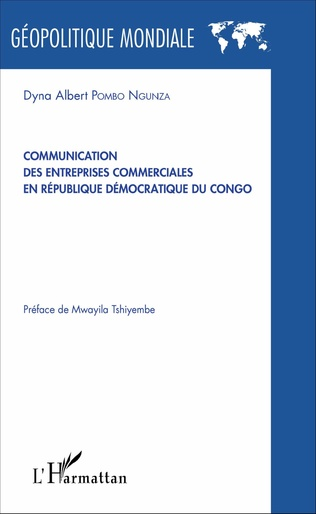 Couverture Communication des entreprises commerciales en République démocratique du Congo