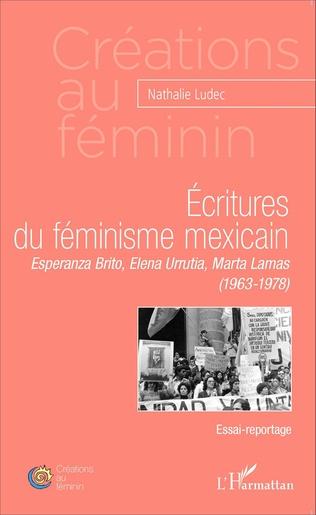 Couverture Ecritures du féminisme mexicain