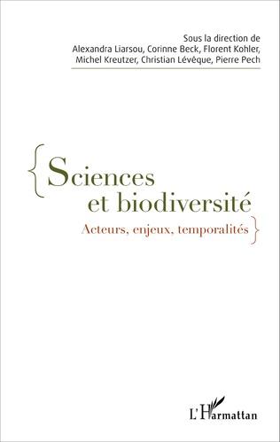 Couverture Sciences et biodiversité