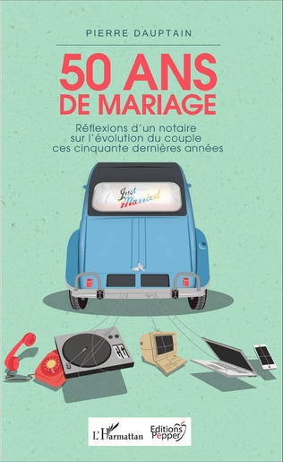 Couverture 50 ans de mariage