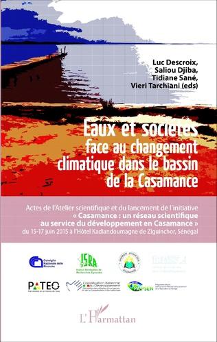 Couverture Eaux et sociétés face au changement climatique dans le bassin de la Casamance