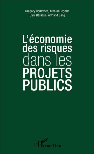Couverture L'économie des risques dans les projets publics