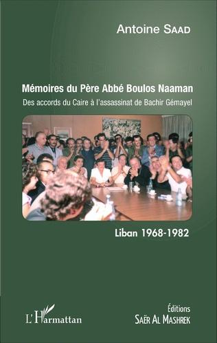 Couverture Mémoires du Père Abbé Boulos Naaman