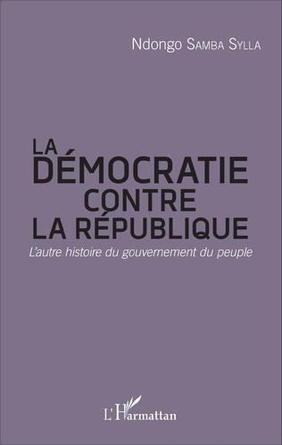 Couverture La démocratie contre la République