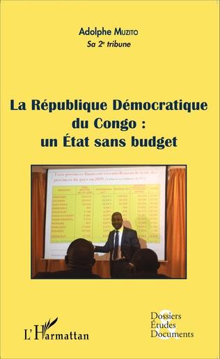 Couverture La République Démocratique du Congo : un État sans budget (fascicule broché)