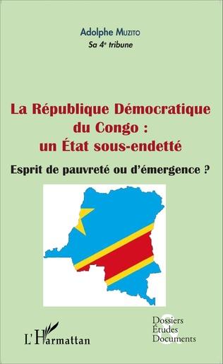 Couverture La République démocratique du Congo : un État sous-endetté (fascicule broché)