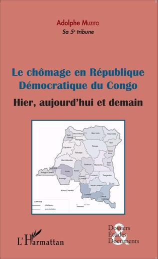 Couverture Le chômage en République démocratique du Congo (fascicule broché)