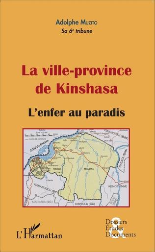 Couverture La ville-province de Kinshasa (fascicule broché)