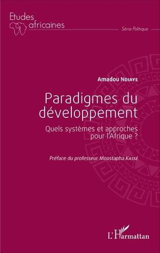 Couverture Paradigmes du développement