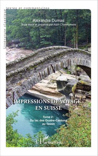 Couverture Impressions de voyage : en Suisse