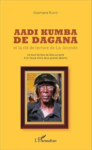 Couverture Aadi Kumba de Dagana et la clé de lecture de La Joconde