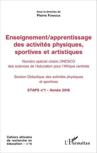 Couverture Enseignement / apprentissage des activités physiques, sportives et artistiques