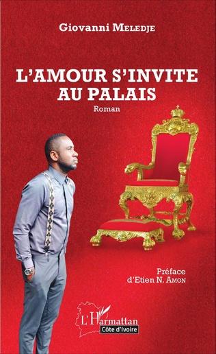 Couverture L'amour s'invite au palais