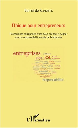 Couverture Éthique pour entrepreneurs