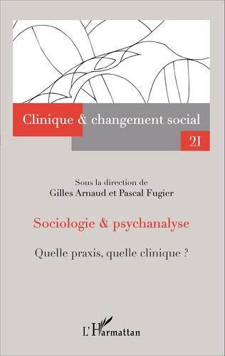 Couverture Sociologie et psychanalyse