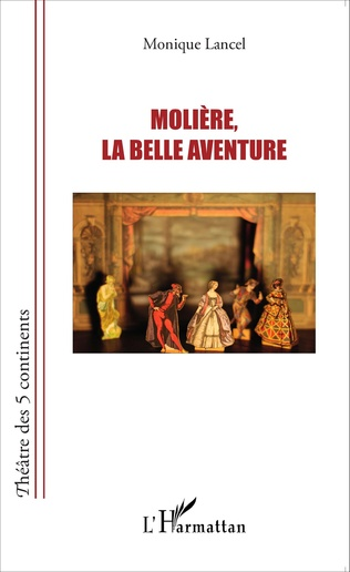 Couverture Molière, la belle aventure
