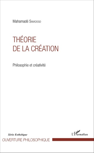 Couverture Théorie de la création