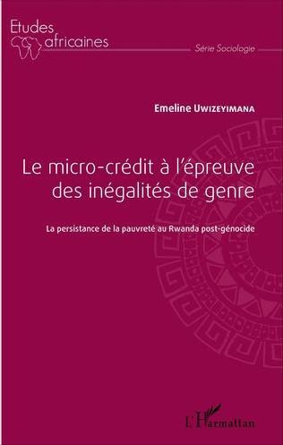 Couverture Le micro-crédit à l'épreuve des inégalités de genre