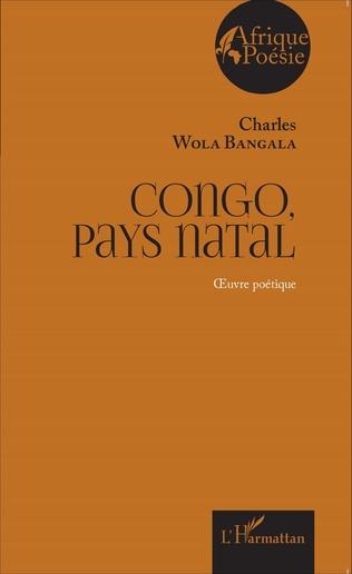 Couverture Congo, pays natal