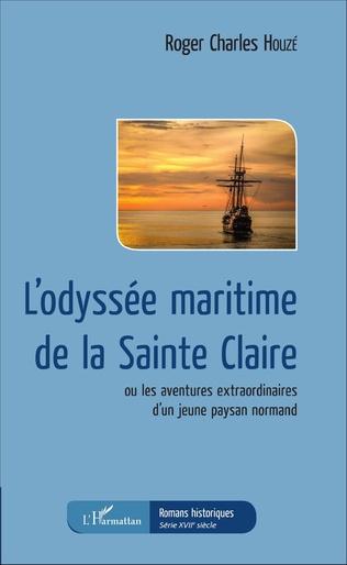 Couverture L'odyssée maritime de la Sainte Claire