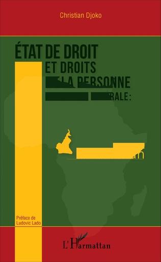 Couverture État de droit et droits de la personne en Afrique centrale