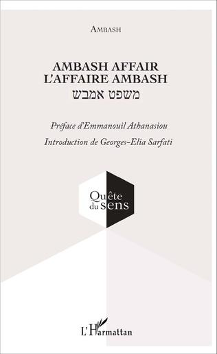Couverture Ambash affair