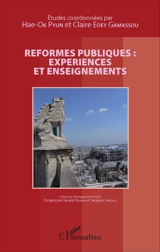 Couverture Réformes publiques : expériences et enseignements