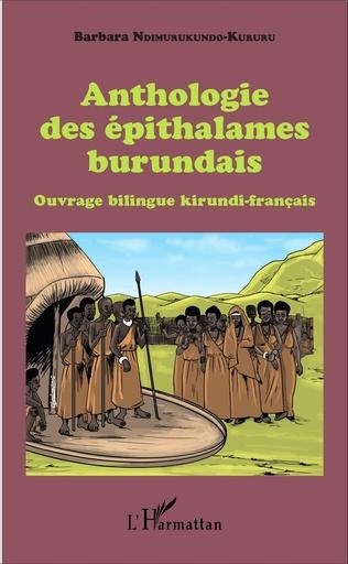 Couverture Anthologie des épithalames burundais