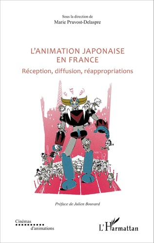 Couverture L'animation japonaise en France