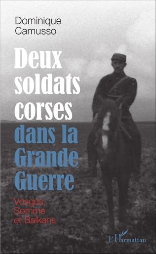 Couverture Deux soldats corses dans la Grande guerre