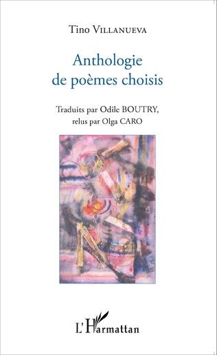 Couverture Anthologie de poèmes choisis