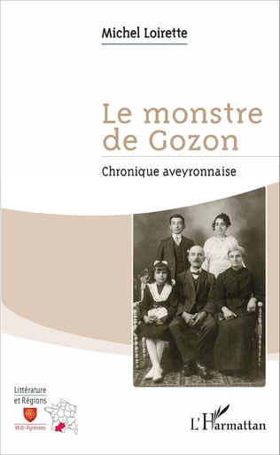 Couverture Le monstre de Gozon