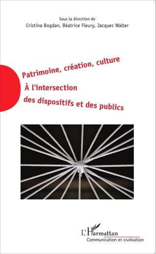 Couverture Patrimoine, création, culture