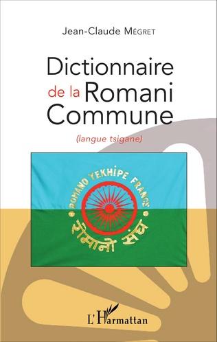 Couverture Dictionnaire de la Romani Commune