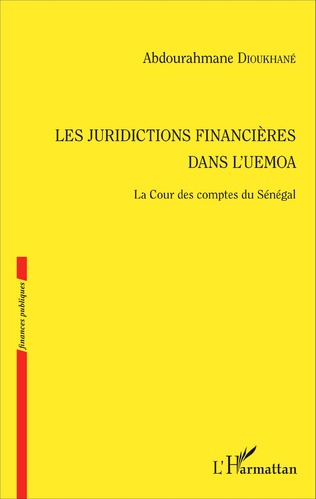 Couverture Les juridictions financières dans l'UEMOA