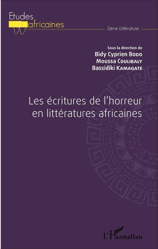 Couverture Les écritures de l'horreur en littératures africaines