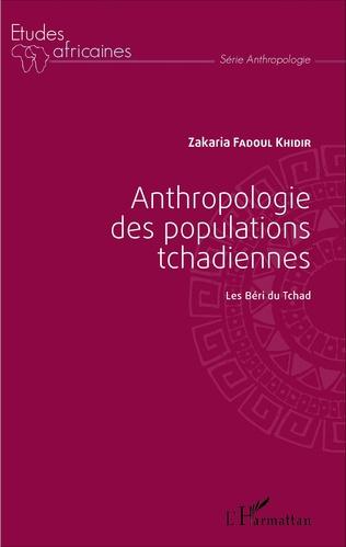 Couverture Anthropologie des populations tchadiennes