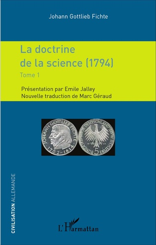 Couverture La doctrine de la science (1794)